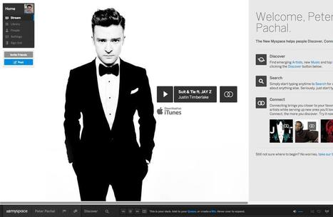 The New MySpace: Music Meets Social, Done Right [REVIEW] | The Shape of Music to Come | Scoop.it