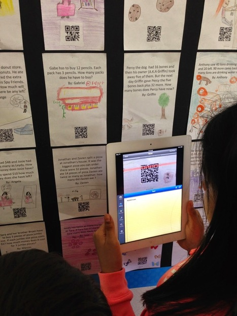iTeach 1:1: Student-Created Interactive QR Code Bulletin Boards | iPad classroom | Scoop.it