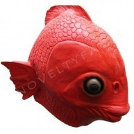 Latex Animal Masks : Animal Overhead Mask - Clown Fish ( Black - Latex ) | Quality Party Wigs - Masquerade-Carnival.co.uk | Scoop.it