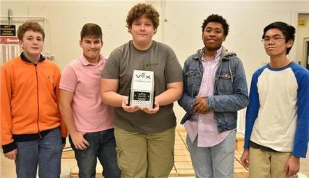 VEX Trophy Awarded To East Hamilton High - The Chattanoogan | STEM Studies | Scoop.it