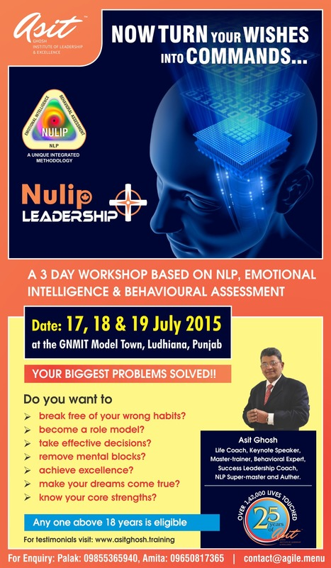 NULIP LEADERSHIP+ by Asit Ghosh | The Attitutor | Scoop.it