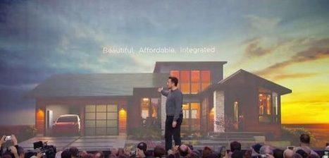 Tesla : des tuiles «solaires» pour une solution Powerwall énergétiquement 100% autonome   Gadgets, DIY & Co   Scoop.it