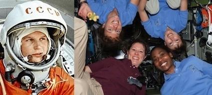 Enjoy Space : 50 ans de femmes dans l'espace | Que s'est il passé en 1963 ? | Scoop.it