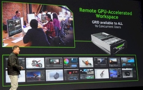 Nvidia gets into the server biz with Visual Computing Appliance • The Register | Future Graphics Rendering | Scoop.it