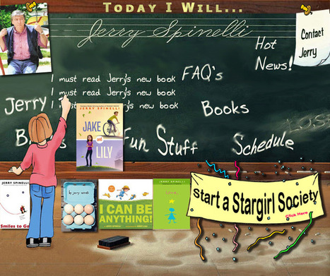 Jerri Spinelli | Book Web Sites | Scoop.it