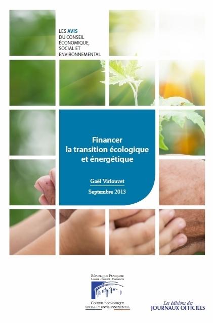 Financer la transition écologique et énergétique - Rapports publics - La Documentation française | Transition énergétique | Scoop.it