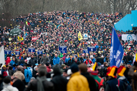 This Is Belgian Cyclocross: World Championship Photos: Koksijde, Belgium | Bicycling Magazine | Life via bike... | Scoop.it