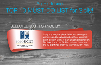 [Infographic] Top 10 things to do in Sicily   Sicily and much more   Scoop.it