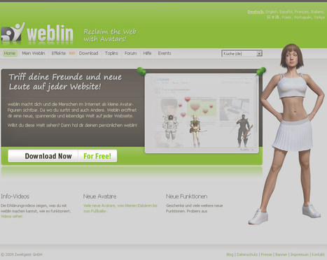 Weblin Reloaded+   Digital Delights - Avatars, Virtual Worlds, Gamification   Scoop.it