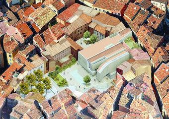 Le projet de médiathèque de Grasse suit son cours | The Architecture of the City | Scoop.it