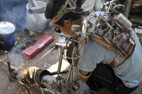 L'Iron Man indonésien se fabrique un bras bionique do it yourself   Humanoides.fr   La technologie au collège   Scoop.it