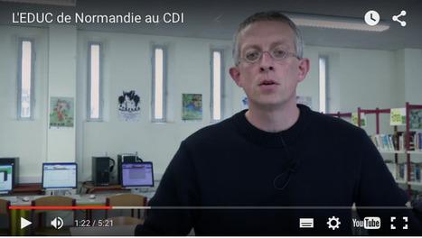 Vidéo n°5 - L'Educ de Normandie (ENT itslearning) au CDI | ENT | Scoop.it