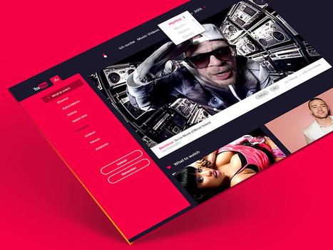 20 Beautiful Dark UI Concepts for Design Inspiration | WebsiteDesign | Scoop.it