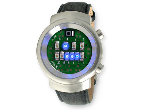 LED Binary Watch | All Geeks | Scoop.it