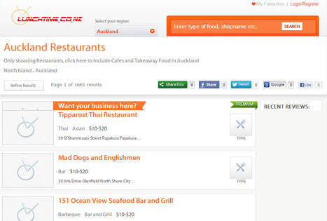 Restaurants - Auckland,North Island   Restaurants in Auckland   Scoop.it