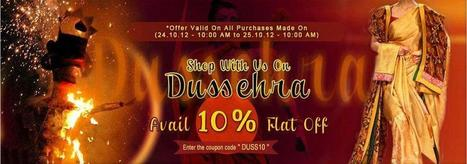 Dussehra 2012 Offer | I don't do fashion, I am fashion | Scoop.it