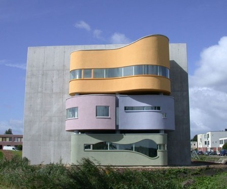 [Groningen, the Netherlands] AD Classics: Wall House 2 / John Hejduk | The Architecture of the City | Scoop.it