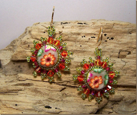 DIY Yoyo Beads Earrings | DIY Beading | Scoop.it