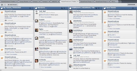 "Twitter Tools That Help With Efficiency | ""#Google+, +1, Facebook, Twitter, Scoop, Foursquare, Empire Avenue, Klout and more"" 
