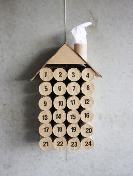 DIY Toilet Paper Roll Calendar - Morning Creativity | The Blog's Revue by OlivierSC | Scoop.it