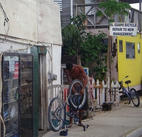 What to do when you bike fails you on Ambergris Caye | Belize in Social Media | Scoop.it