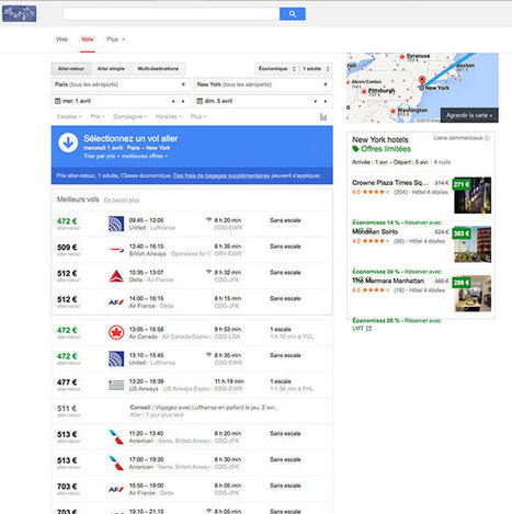 Google Flight va pouvoir vous dire si votre avion est équipé du WiFi | Infos e-tourisme FROTSI Bourgogne | Scoop.it