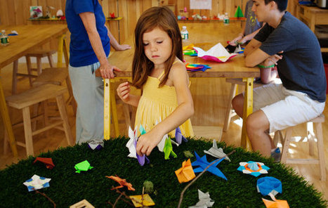 An Origami Studio Unfolds in Park Slope | Made with (and of) Paper | Scoop.it