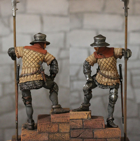 Guard, England, XV cent. | Military Miniatures H.Q. | Scoop.it