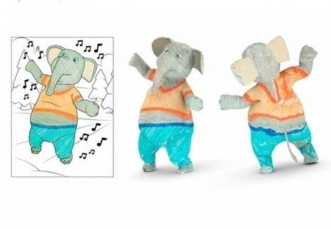 Coloring Books Are Cool Again As Researchers Use AR To Turn Pages Into 3D   Using Technology to Transform Learning   Scoop.it