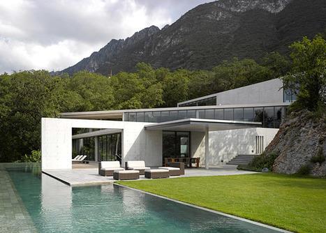 Tadao Ando's Casa Monterrey nestles against a hillside in Monterrey | tecnologia s sustentabilidade | Scoop.it