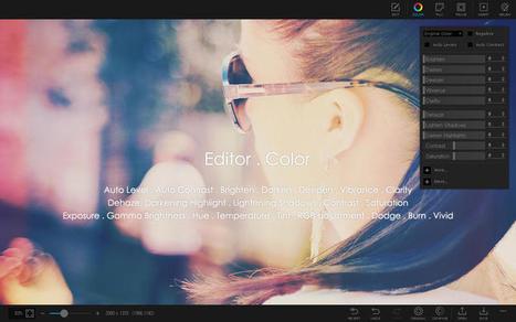 PhotoScape X un éditeur tout-en-un pour le traitement de vos photos | Chroniques libelluliennes | Scoop.it