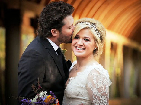 Kelly Clarkson's wedding video is straight out of Pinterest heaven — VIDEO   EW.com   Everything Pinterest   Scoop.it