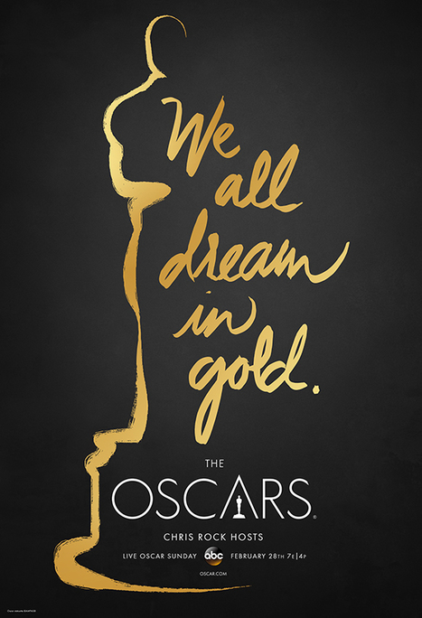 Official poster of the 88th Academy Awards® | Cinematography | Scoop.it