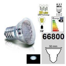 Easy Connect ampoule E27 MR16 à 20 leds Blanches 66800 | Easy Connect ampoule E27 MR16 à 20 leds Blanches | Scoop.it