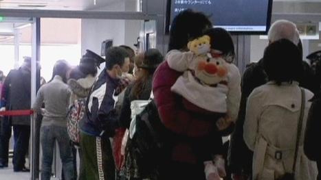 [Vidéo] Japon: ils fuient Tokyo | euronews, monde | Japon : séisme, tsunami & conséquences | Scoop.it