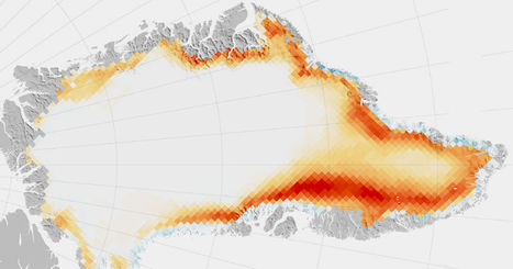 Infographic of the Day: #Greenland Is Melting Away #climate | Geography | Scoop.it
