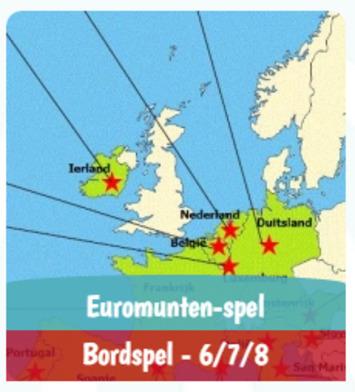 Gratis te downloaden via Spelletjesplein.nl: Het Euromunten-spel | Educatief Internet - Gespot op 't Web | Scoop.it