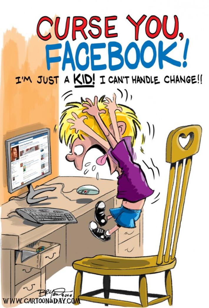 Facebook Changes Format – Cartoon Cartoon | Machinimania | Scoop.it