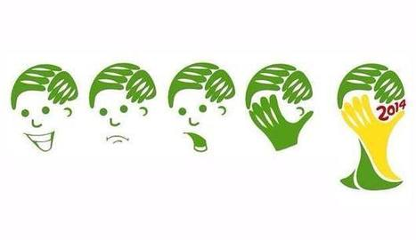 Le logo de la Coupe du Monde 2014 a son détournement | Graphic Design | Scoop.it