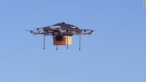 Amazon's drone delivery: How would it work? | Future Retail Technologies | Scoop.it