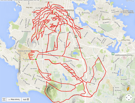 GPS doodles and the art of turning exercise into an adventure | Location Is Everywhere | Scoop.it