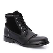 LA REDOUTE EN PLUS Men's Lace-Up Leather Ankle Boots - Just Be Fancy | Online Clothes for Men | Scoop.it