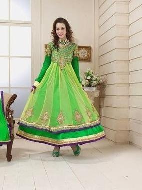 Green Suit For Women | Anarkali Suit | Fashion Dress Trends | Scoop.it