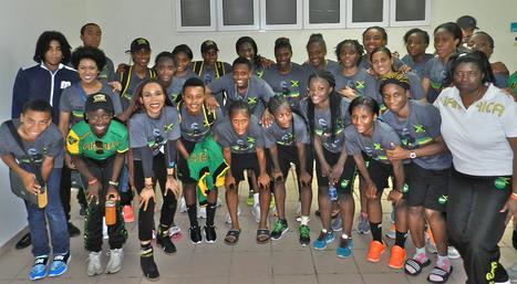 Bob Marleys Daughter Aids Womens Jamaica Soccer Team's World ... | Bob Marley | Scoop.it
