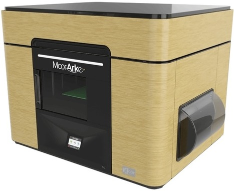 Mcor Launches World's First Full-Color, Desktop 3D Printer, Mcor ARKe - Mcor Technologies | Additive Manufacturing News | Scoop.it