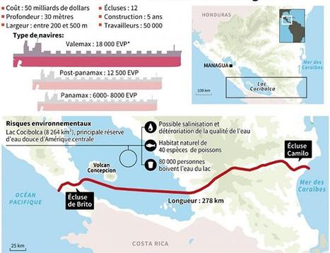 Le canal du Nicaragua : un cheval de Troie ? - Le Monde | En amont | Scoop.it