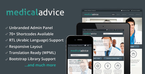 Medical Advice - Responsive WordPress Theme   Medical wordpress themes   Scoop.it