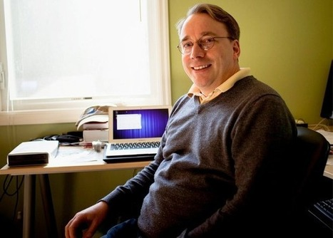 Linus Torvalds adore son MacBook Air   Deletom - Open source & Libre   Scoop.it