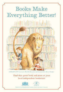 Library Lion by Michelle Knudsen | Wild Animals Loose in the Library! | Scoop.it