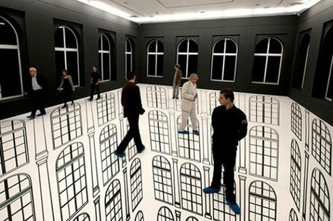 These Optical Illusions Destroyed My Brain. For Some Reason, I Can't Look Away... | Visual & digital texts | Scoop.it